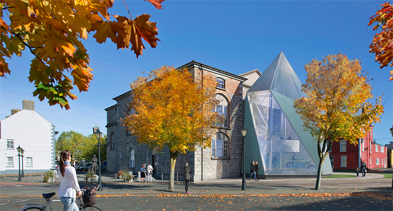 Image of proposed redevelopment of Athy Heritage Centre - Shackleton Museum
